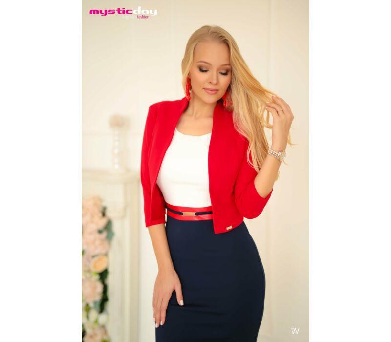 Mystic Day Hosszított boleró piros